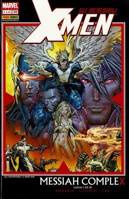 Gli Incredibili X-Men 219 - Messia Complex (2008)