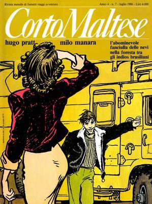 Corto Maltese 034 - Anno 04 Numero 07 (07/1986)