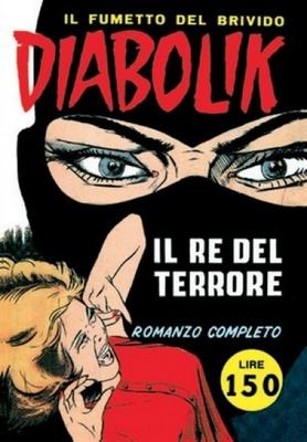 Diabolik N.001 - Prima serie - Il re del terrore (Astorina 11-1962)