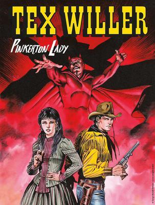 Tex Willer N.10 - Pinkerton Lady (08-2019) (Nuova Serie)