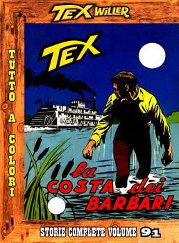 Tex Willer - Storie complete N.91 - La costa dei barbari (2014)
