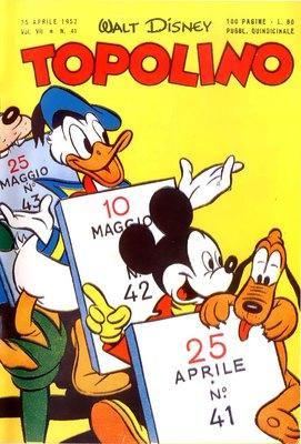 TOPOLINO LIBRETTO – N° 41 (1952)