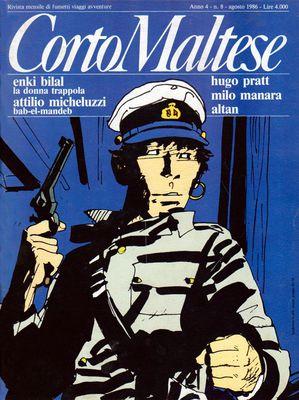 Corto Maltese 035 - Anno 04 Numero 08 (08/1986)