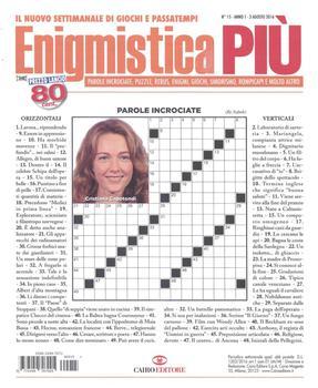 Enigmistica PIU n°15 del 03 Agosto 2016