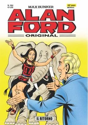 Alan Ford 564 - Il Ritorno (Giugno 2016)