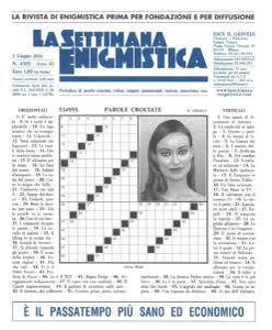 La Settimana Enigmistica - 2 Giugno 2016