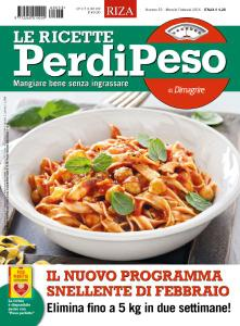 Le Ricette PerdiPeso - Febbraio 2016
