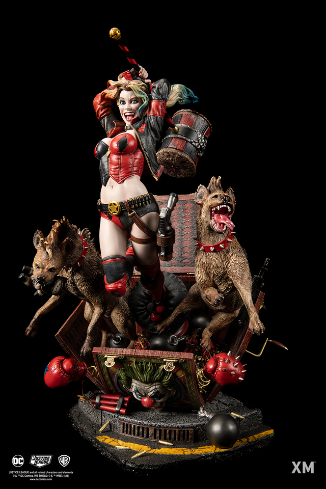Premium Collectibles : Harley Quinn 1/6 003djrm