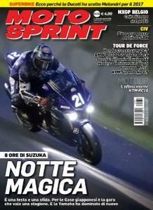 Moto Sprint - 2 Agosto 2016