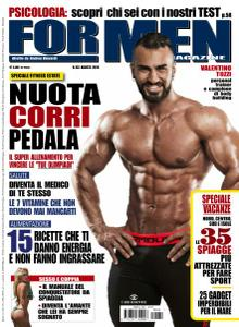For Men Magazine - Agosto 2016
