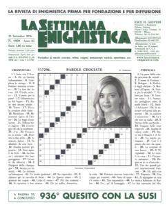 La Settimana Enigmistica - 22 Settembre 2016