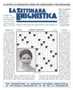 La Settimana Enigmistica - 6 Ottobre 2016