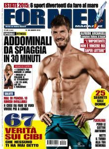 For Men Magazine - Agosto 2015