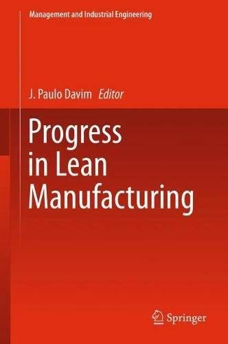 Progress in Lean Manufacturing (Management and Industrial Engineering)