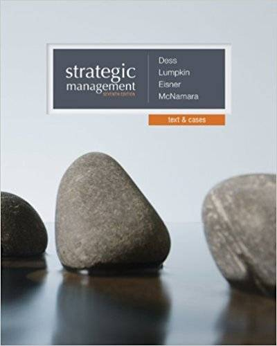Strategic Management: Text and Cases, 7th Edition