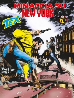 Tex Willer Mensile 699 - Minaccia su New York (01/2019)