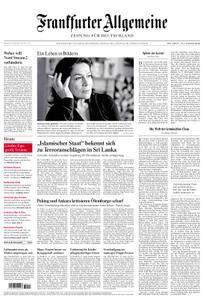 Frankfurter Allgemeine 24 April 2019