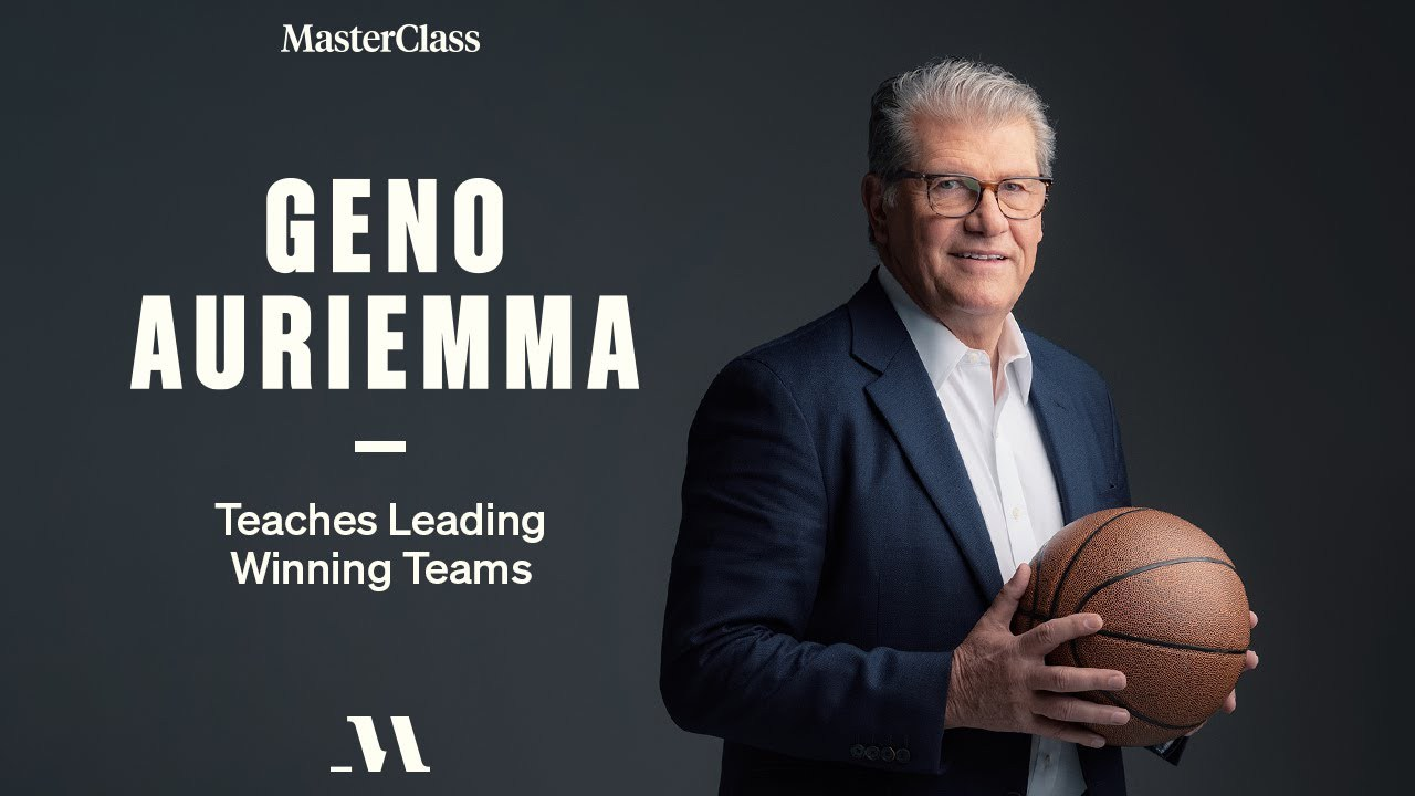 MasterClass - Geno Auriemma Teaches Leading Winning Teams