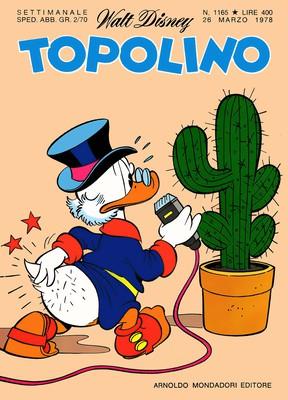 Topolino 1165 - Paperino e la trionfale marcia longa (03-1978)