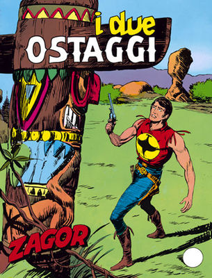 Zagor 141 (Zenith Gigante 192) - I due ostaggi (Daim Press 1977-04)