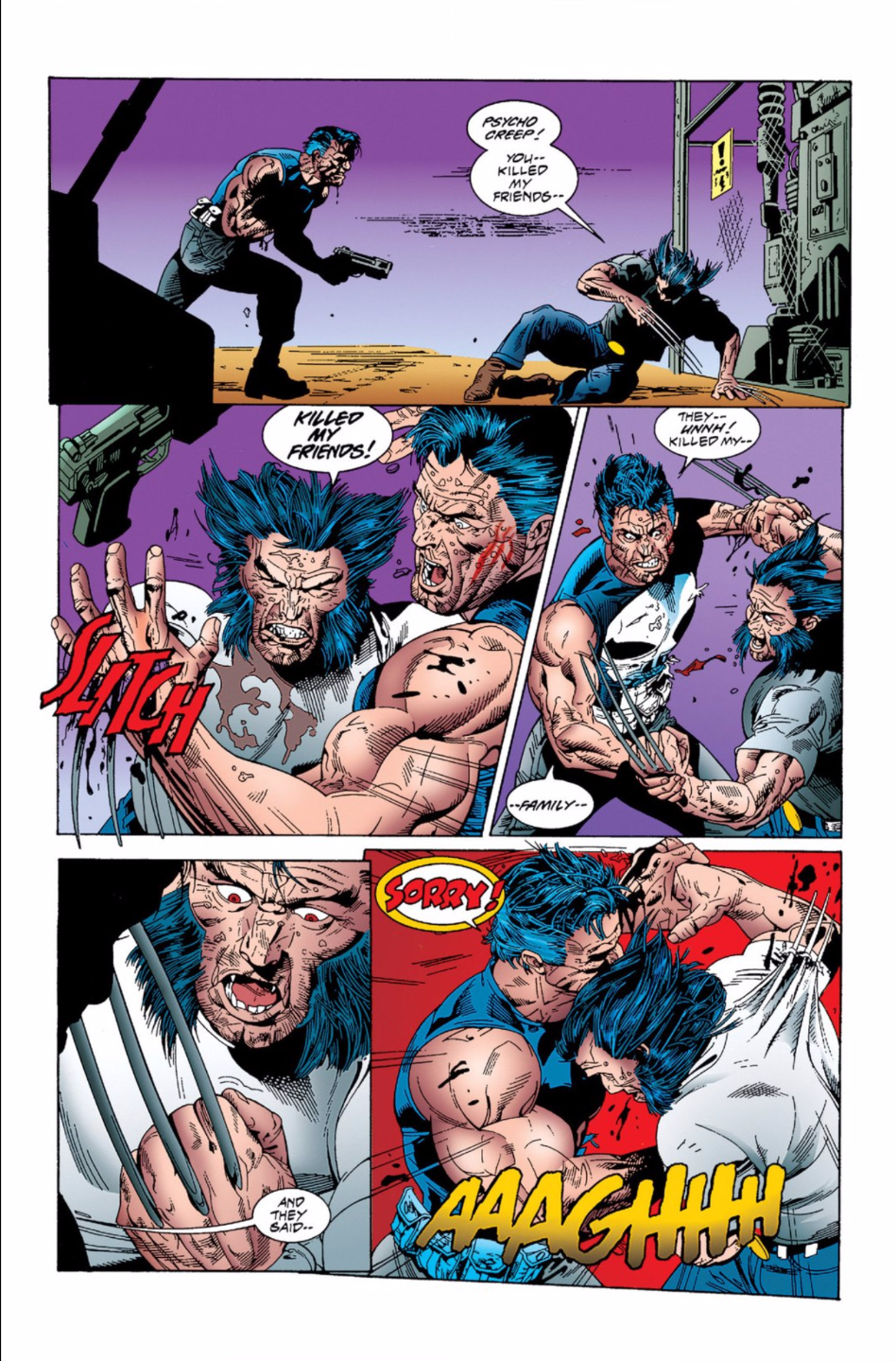 Kills marvel pdf the punisher universe