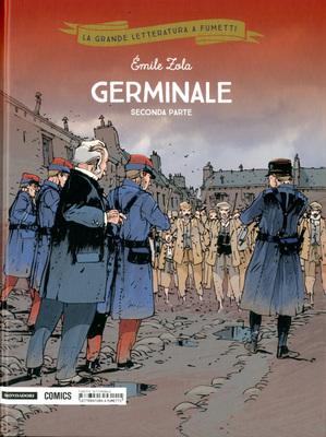 La grande letteratura a fumetti 29 - Germinale parte II (Mon
