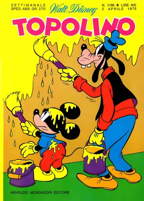Topolino 1166 - Tre paperi in fuga (04-1978)