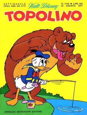 Topolino 1134 - Topolino e la zecca clandestina (08/1977)