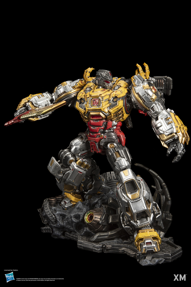 Premium Collectibles : Transformers - Grimlock (G1) 017gjnn