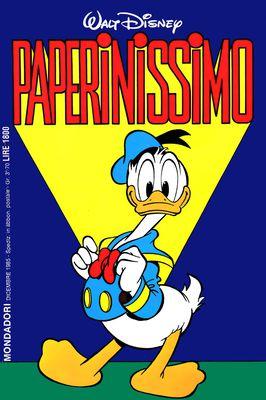 I classici di Walt Disney II serie 108 - Paperinissimo (1985-12)