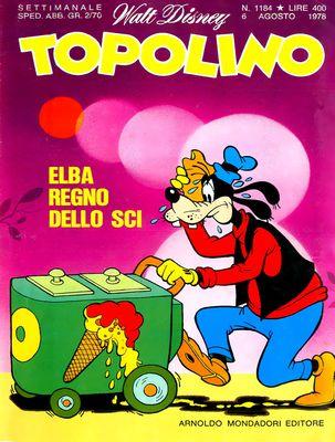 Topolino 1184 - Paperino e la bistecca spray (08-1978)