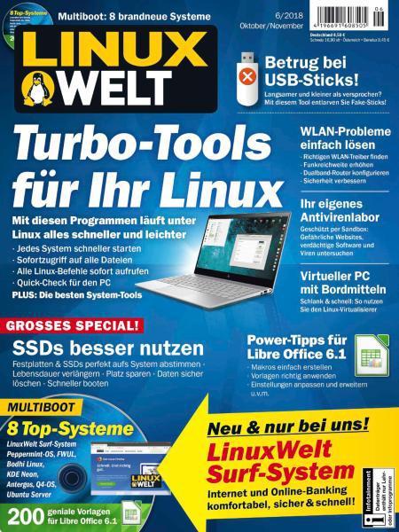 LinuxWelt Magazin Oktober-November No 06 2018