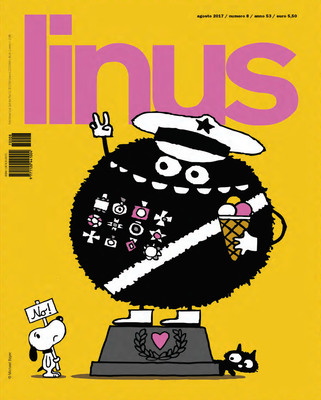 Linus 627 - anno 53 n.08 (Baldini Castoldi 2017-08)