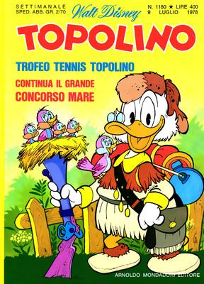 Topolino 1180 - Paperino e l'introvabile collana (07-1978)