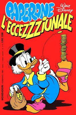 I classici di Walt Disney II serie 086 - Paperone L'Eccezzziunale (1984-02)