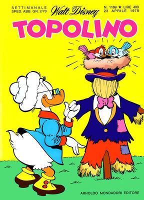 Topolino 1169 - Gastone e la fortuna a pagamento (04-1978)
