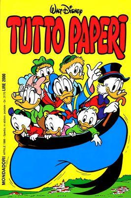 I classici di Walt Disney II serie 112 - Tutto Paperi (1986-04)