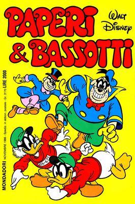 I classici di Walt Disney II serie 119 - Paperi & Bassotti (1986-11)