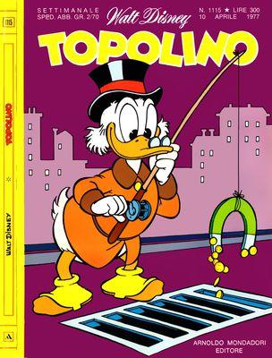 Topolino 1115 - Zio Paperone e le miniere dell'oro acquatico (04/1977)