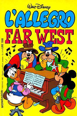 I classici di Walt Disney II serie 098 - L'Allegro Far West (1985-02)