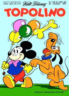 Topolino 1126 - I tre nipotini e la giornata delle bugie (06/1977)