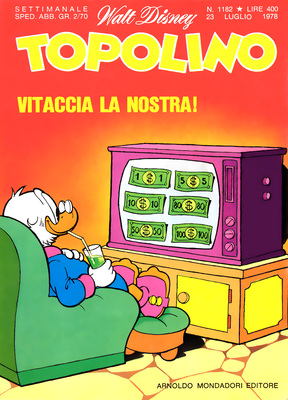 Topolino 1182 - Topolino e la base segreta (p.1) (07-1978)
