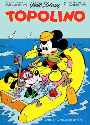 Topolino 1133 - Zio Paperone e il pozzo dei non-desideri (08/1977)