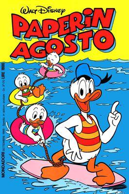 I classici di Walt Disney II serie 105 - Paperin Agosto (1985-09)