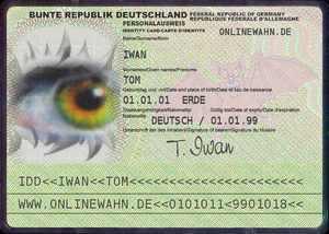 Zum Personalausweis-Generator