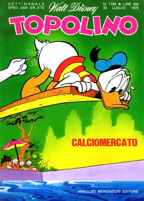Topolino 1183 - Topolino e la base segreta (p.2) (07-1978)