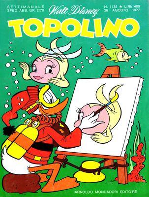 Topolino 1135 - Paperino e le sabbie del fiume d'oro (08/1977)