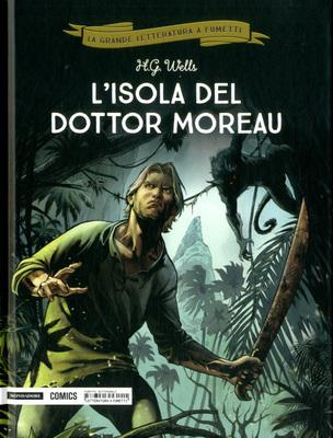 La grande letteratura a fumetti 31 - L'isola del dottor More