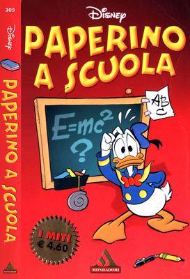 I Miti 305 - Paperino a scuola (Mondadori 2003-07)