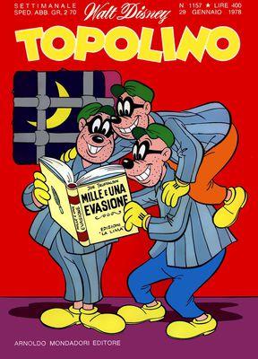 Topolino 1157 - Topolino e il campione di Kung-Fu (01-1978)
